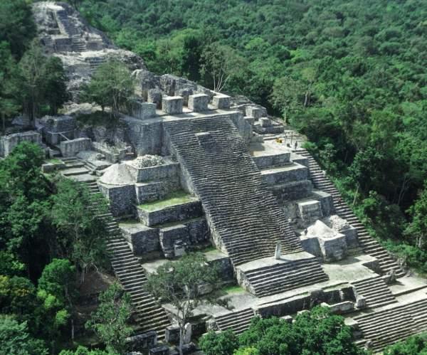 Calakmul y Balamkú