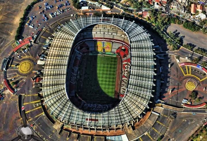 Estadio Azteca sede de dos copas mundiales